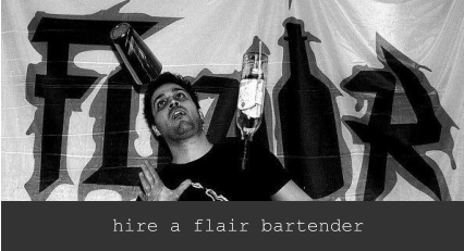 hire a flair bartender